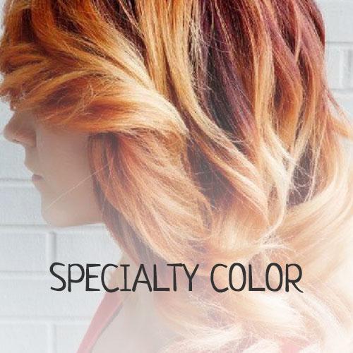 specialty color hair salon